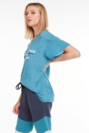 Wildfox Yoga & Beer Manchester Graphic Tee - Front full body