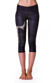 Teeki Yoga Capri Leggings - Front full body