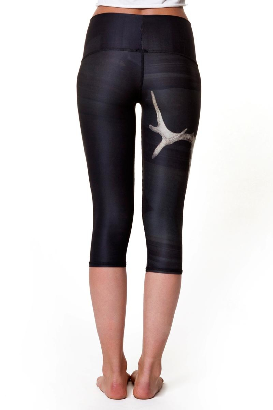 Teeki Yoga Capri Leggings - Main Image