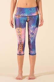 Teeki Yoga Capri Leggings - Front cropped