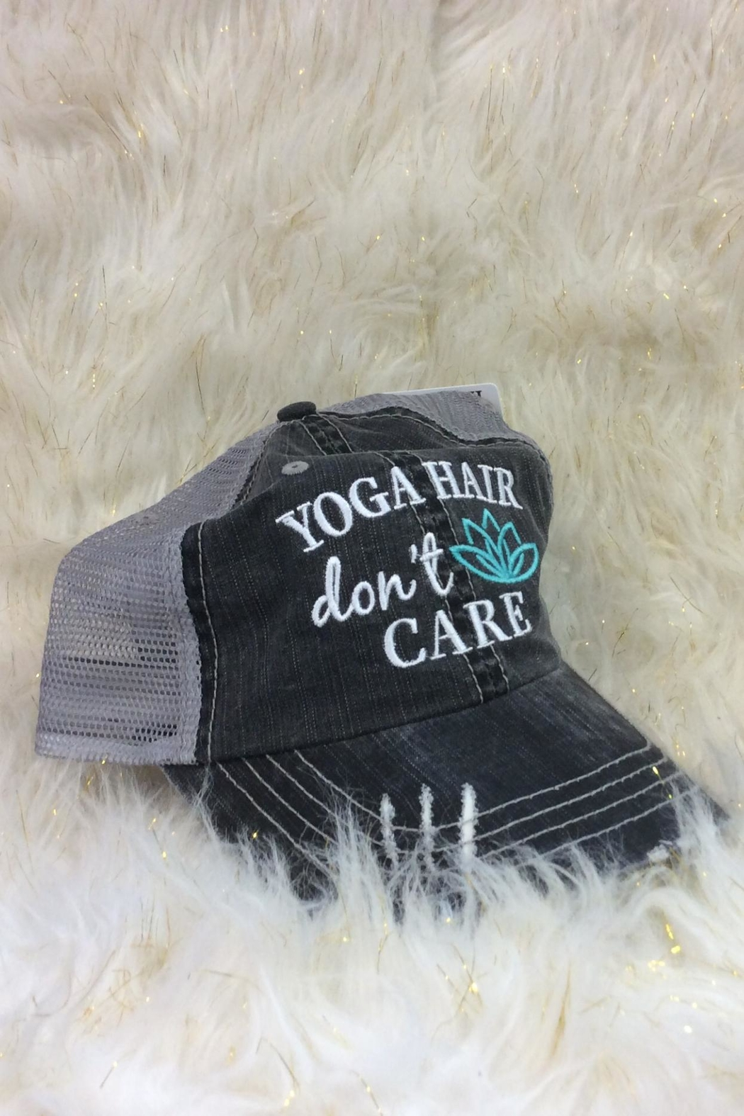 KATYDID Yoga Hair Hat - Front Cropped Image