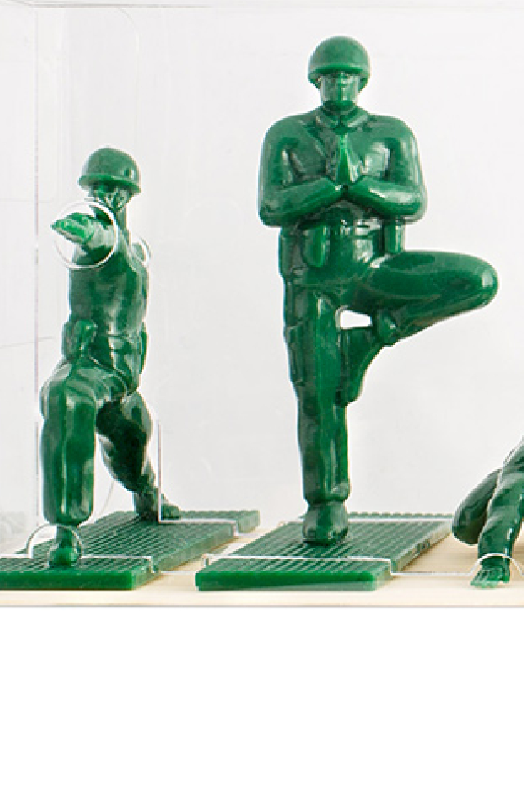 Yoga Joes  Series 1 - Front Full Image