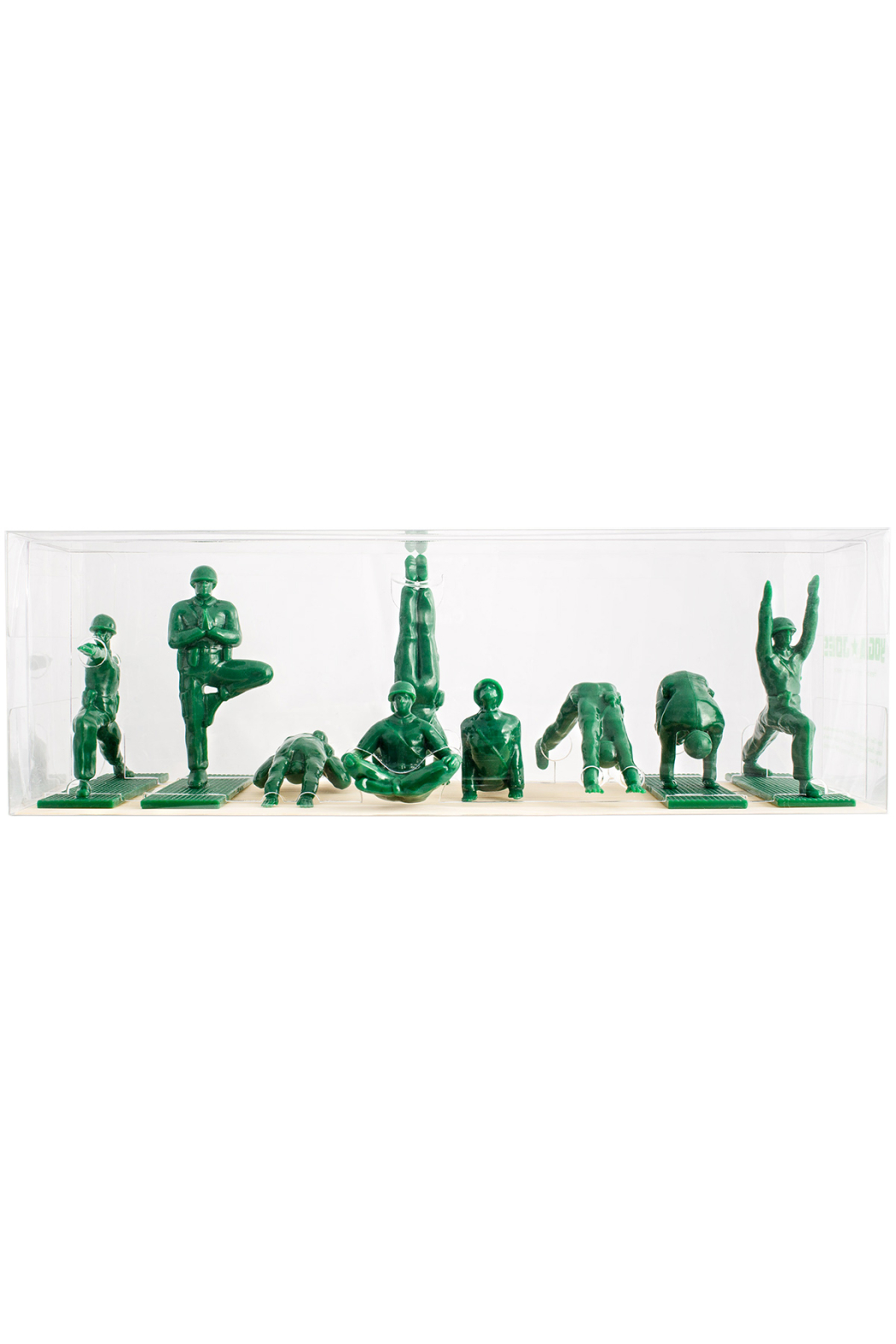 Yoga Joes  Series 1 - Front Cropped Image