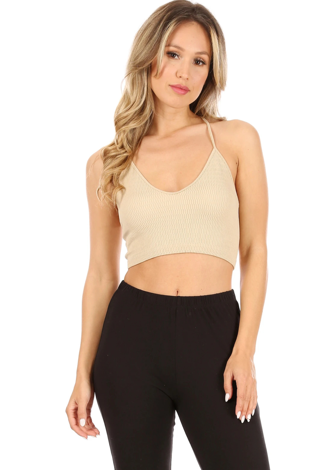 Suzette Collection Lace Bralette - Front Cropped Image