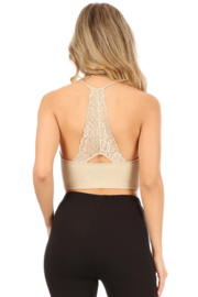 Suzette Collection Lace Bralette - Front full body