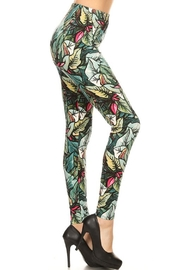 HGG Yoga Legging Palms - Front full body