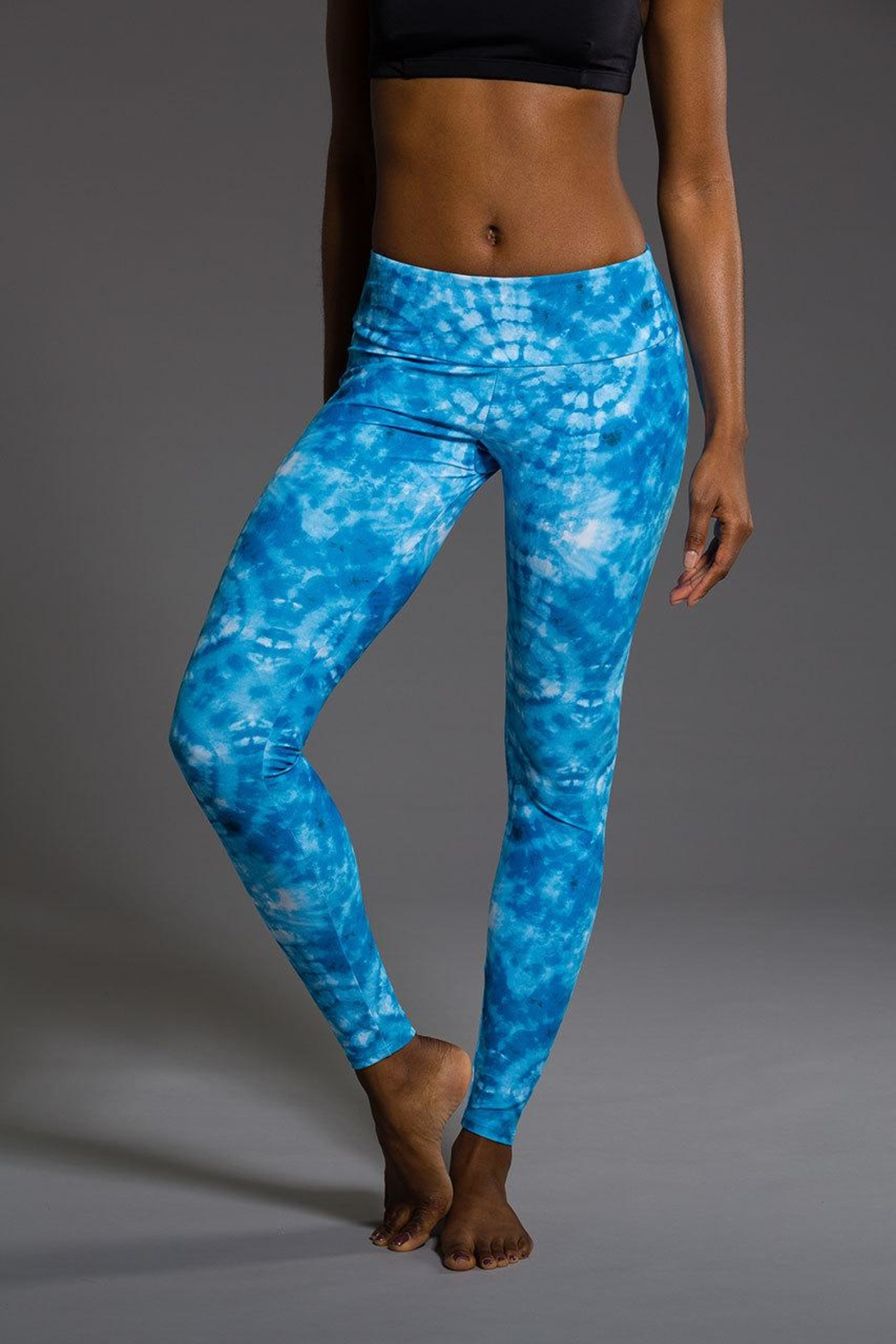 Onzie Yoga Long Leggings - Side Cropped Image