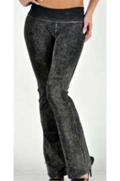 T Party Yoga Pants with boot cut legs - Alternate List Image
