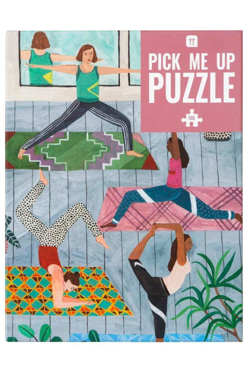 Talking Tables  Yoga Pick Me Up Puzzle - Front Cropped Image