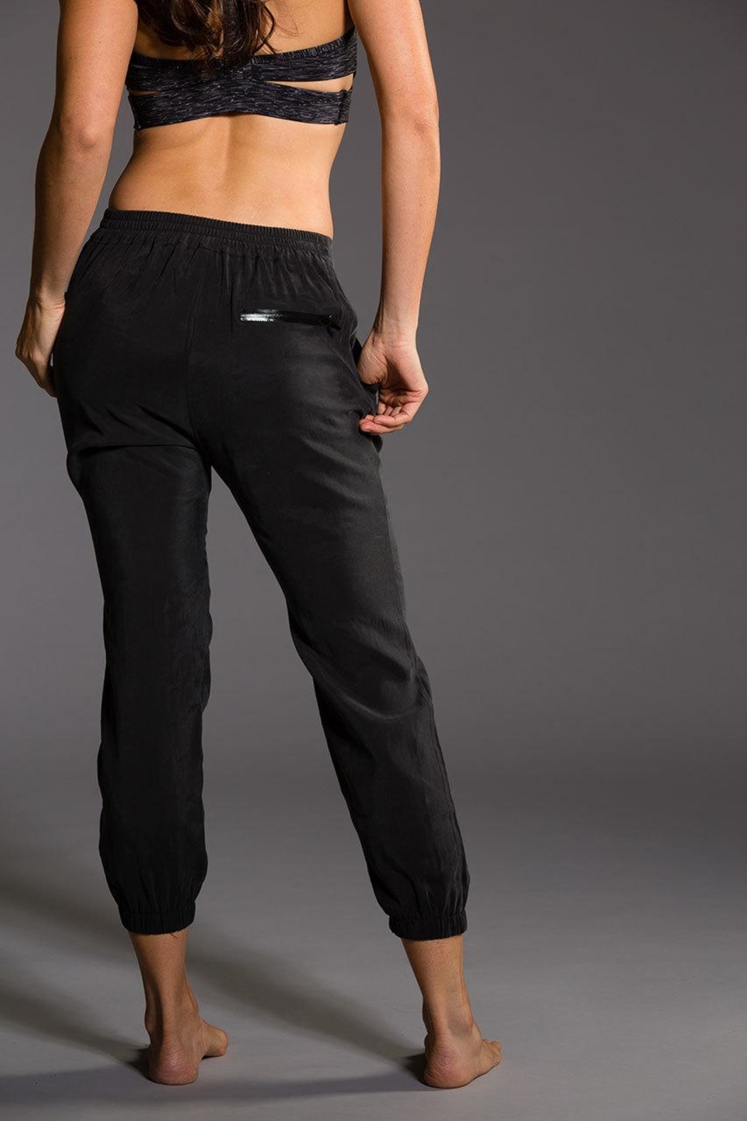 Onzie Yoga Woven Pant - Side Cropped Image