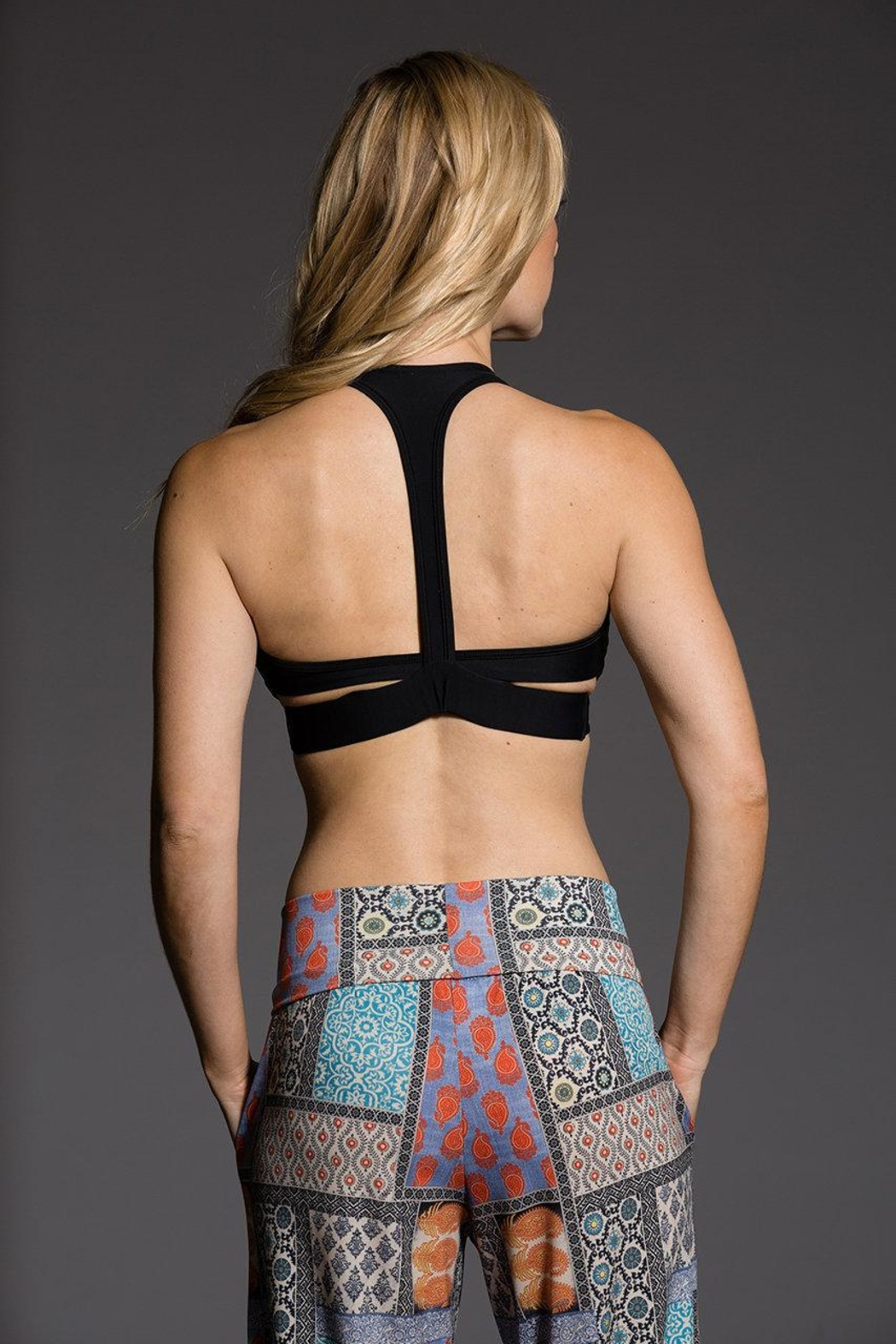 Onzie Yoga Wrap Bra - Front Cropped Image