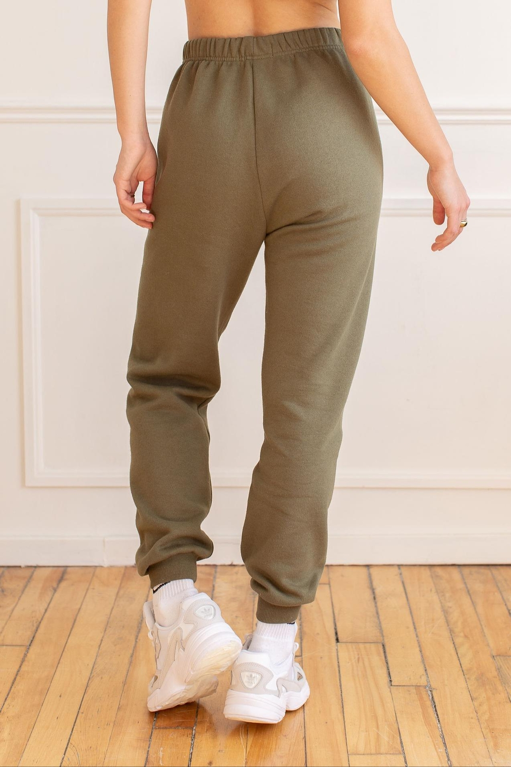 Yoga Jeans Cotton Jogger - Side Cropped Image