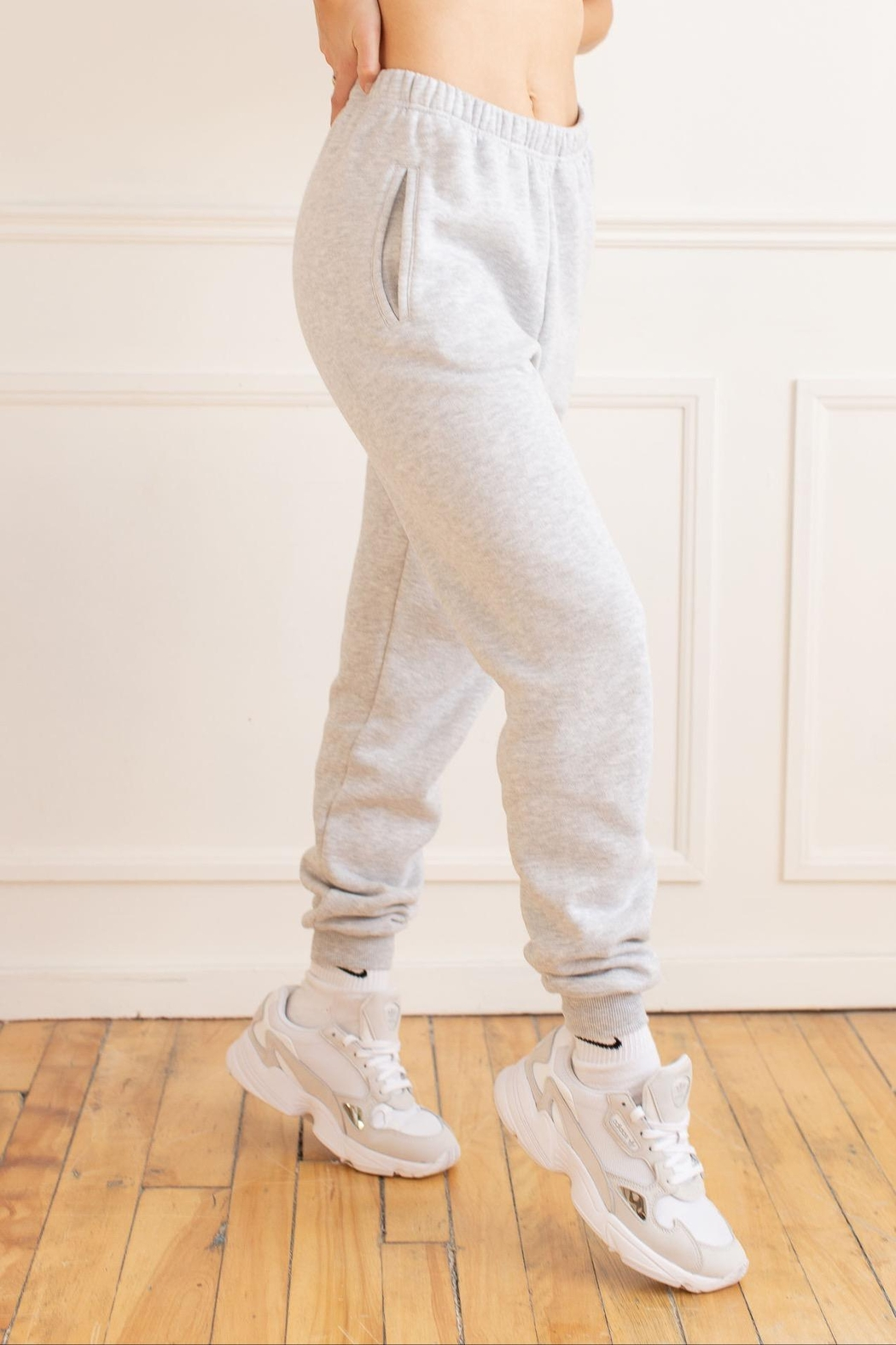 Yoga Jeans Cotton Jogger - Front Full Image