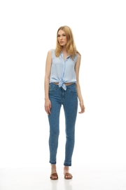 Yoga Jeans Cropped Raw Hem - Product Mini Image