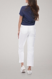 Yoga Jeans Cropped Straight Leg Jean - Side cropped