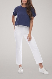Yoga Jeans Cropped Straight Leg Jean - Front cropped