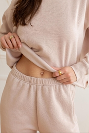 Yoga Jeans Cropped Sweatshirt - Front full body