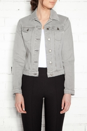 Yoga Jeans Gray Denim Jacket - Product Mini Image