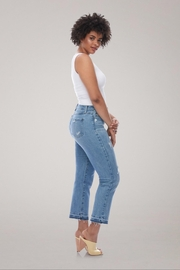 Yoga Jeans High-Rise Straight Buttonfly - Front full body