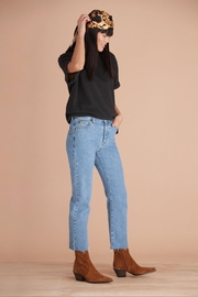 Yoga Jeans High-Rise Straight Cropped - Product Mini Image