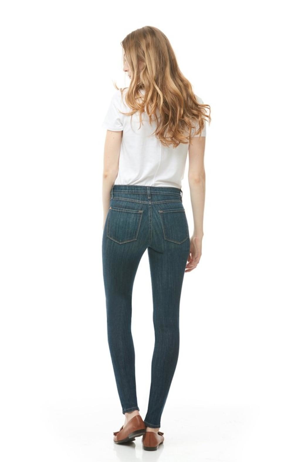 Yoga Jeans Rachel Skinny Italy - Side Cropped Image