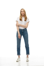 Yoga Jeans Straight Relaxed Jean - Front cropped