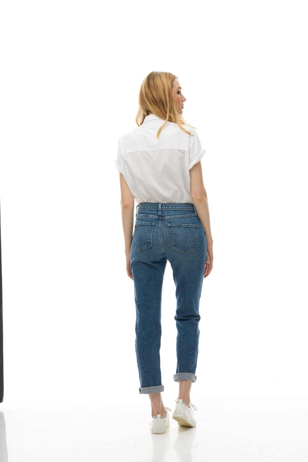 Yoga Jeans Straight Relaxed Jean - Front Full Image