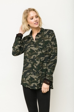 Mystree Yoke Camo Detailed Button-Down - Alternate List Image