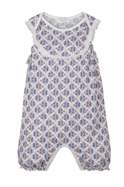 Feather Baby Yoke Romper - Front cropped