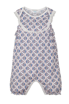 Feather Baby Yoke Romper - Product List Image