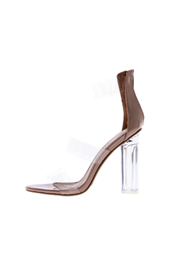 Shoptiques Product: Nude Lucite Heel