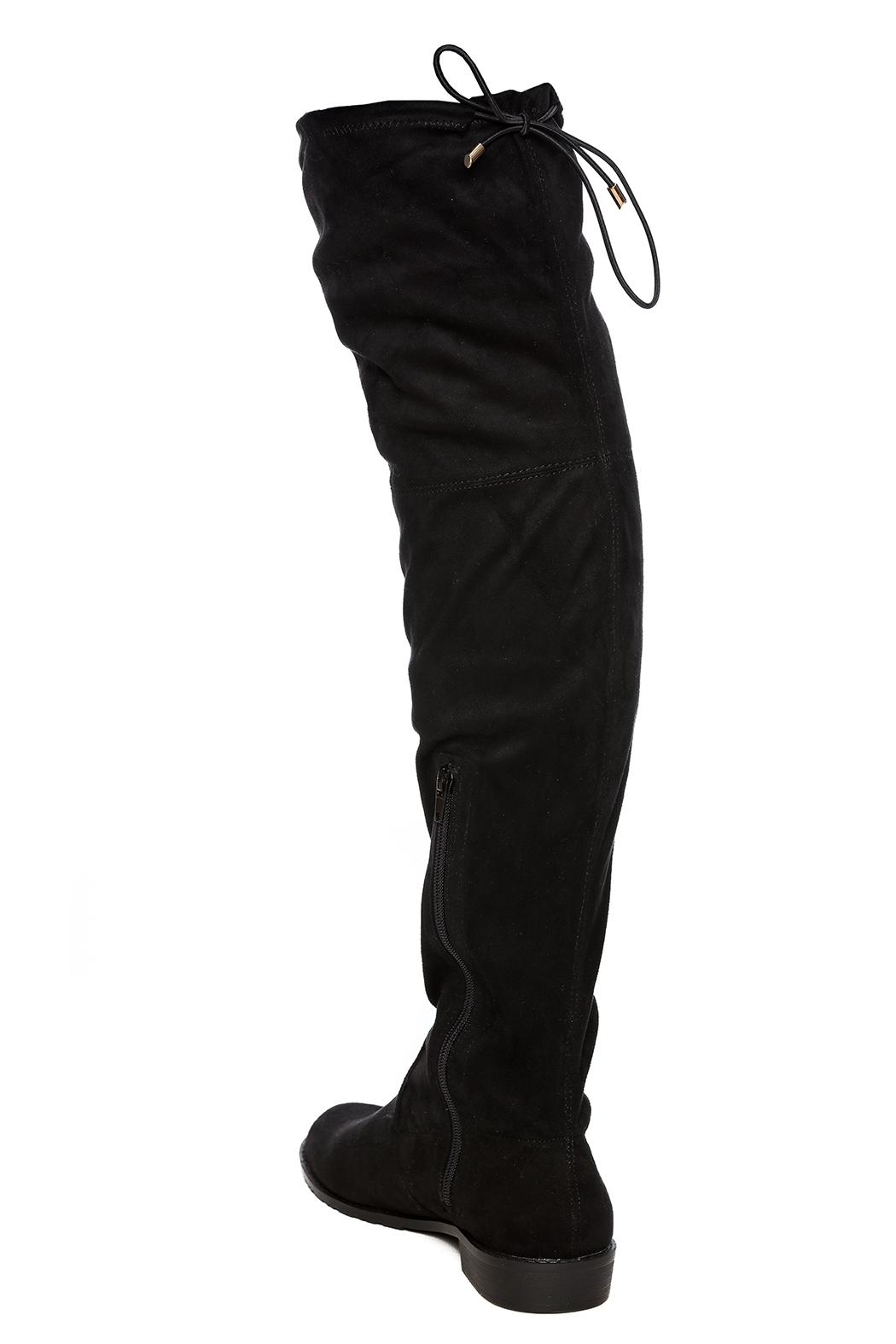 Yoki Over The Knee Boot - Side Cropped Image
