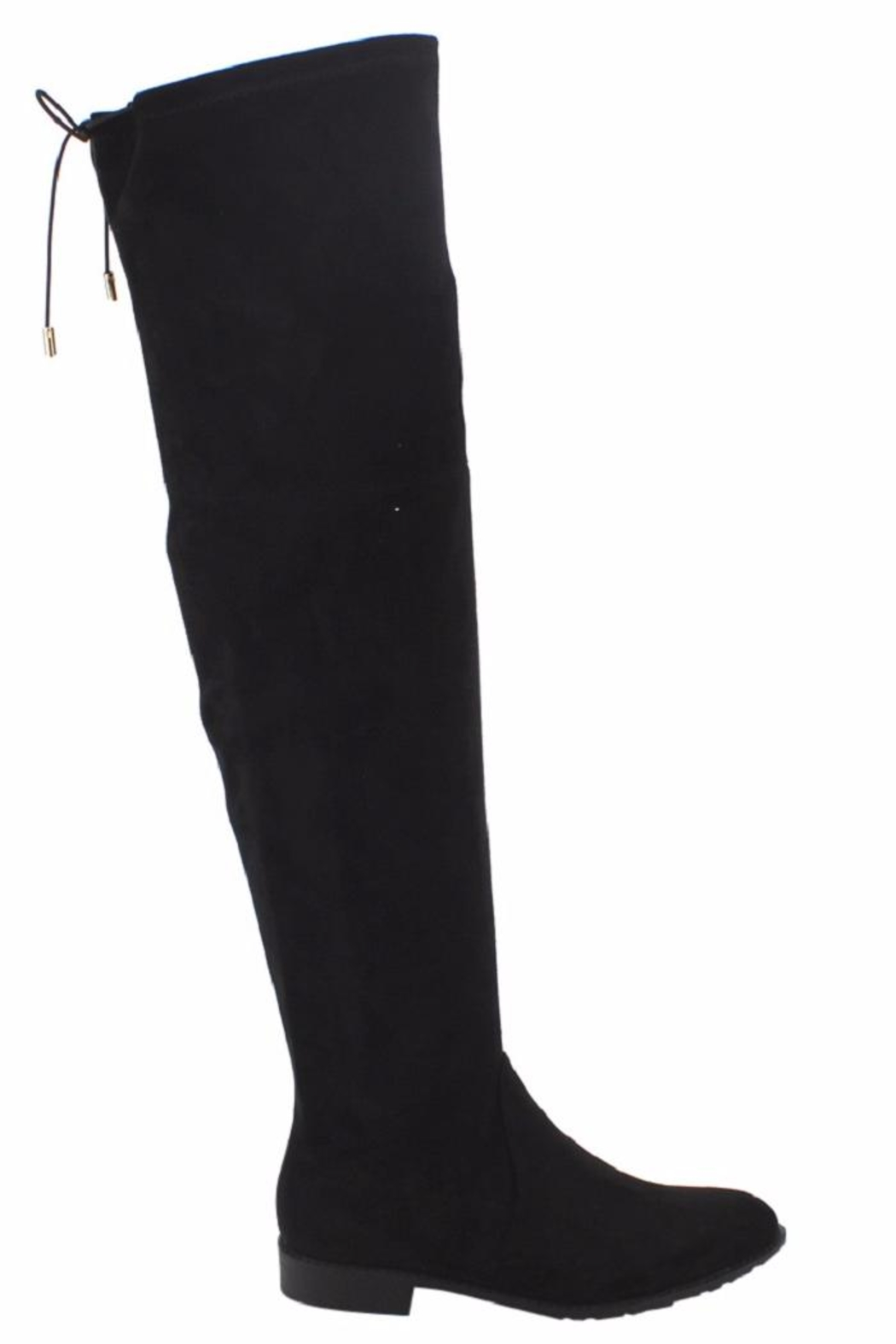 Yoki Over The Knee Boot - Back Cropped Image