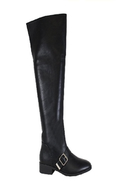Yoki Pate-12 Women's Black Leather Boot - Product Mini Image