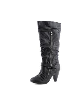 Yoki Zipped Buckled Boots - Alternate List Image