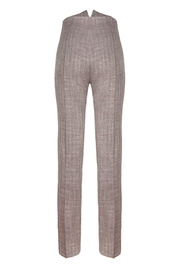 Yona New York Ari High Waisted Pant / Plaid - Side cropped