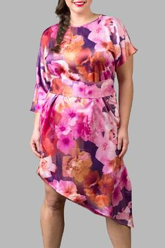 Love By Yona Asymmetrical Floral Pink - Product List Image