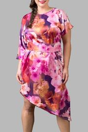Love By Yona Asymmetrical Floral Pink - Front cropped