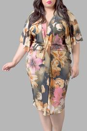 Yona New York Floral Kimono Dress - Product Mini Image