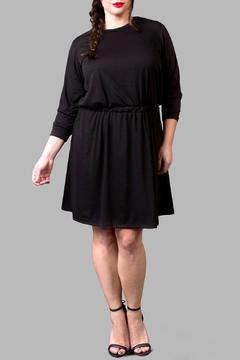 Yona New York Jersey Anywhere Black Dress - Product List Image