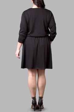 Yona New York Jersey Anywhere Black Dress - Alternate List Image