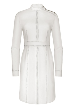 Shoptiques Product: Marian Shift Dress / Winter White