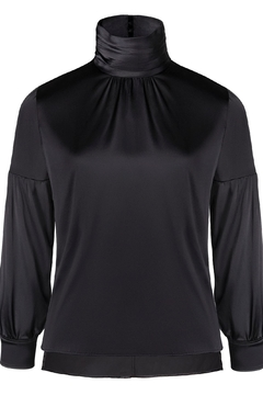 Shoptiques Product: Silk High Neck Top