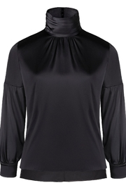 Yona New York Silk High Neck Top - Product Mini Image