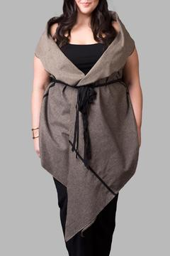 Shoptiques Product: Textured Wrap Shawl