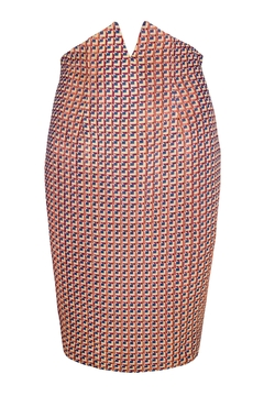 Yona New York Tori Notch Pencil Skirt / Multi Color Pattern - Product List Image