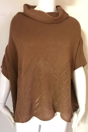 Yoon Camel Cowl-Neck Sweater - Product Mini Image