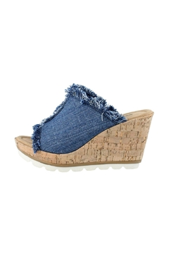 Minnetonka York Denim Wedge - Product List Image