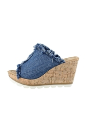 Minnetonka York Denim Wedge - Product Mini Image