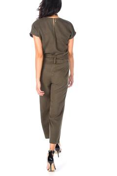 York Tie Front Pantsuit - Alternate List Image